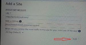 wordpress blog ko bing search engin par set aur verify kare