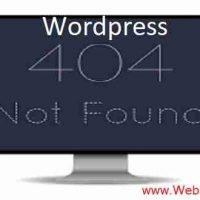 वर्डप्रेस Redirection 404 नॉट फाउंड एरर ठीक कैसे करें