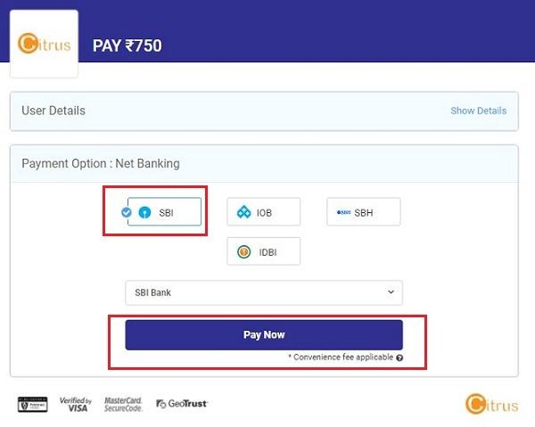 nios online payment