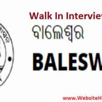Chief District Medical & Public Health Officer Walk In Interview भर्ती 2020