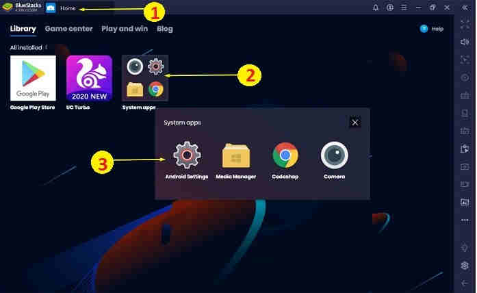 How to Add an account on BlueStacks
