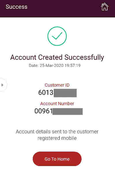 ippb Account Created Successfully