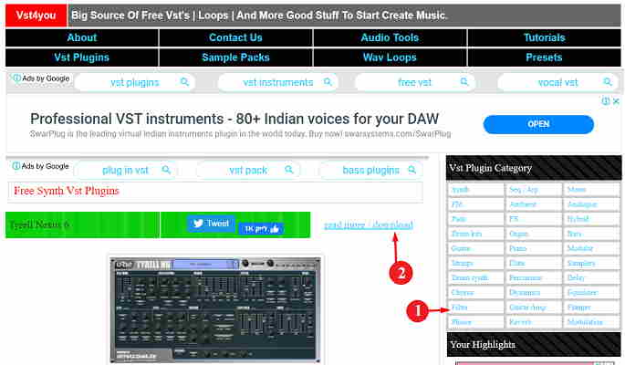 vst plugins download website hindi