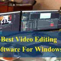 विंडोज लैपटॉप से फिल्मो जैसा विडियो एडिटिंग करने के लिए बेस्ट सॉफ्टवेयर