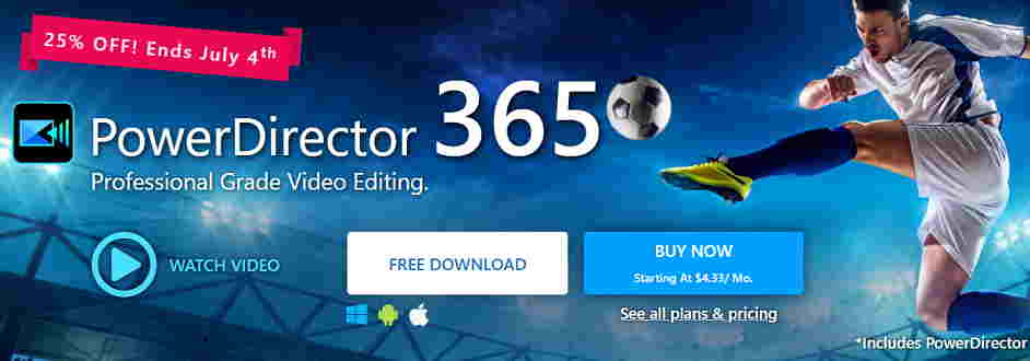 Cyberlink Powerdirector Best Video Editing Software