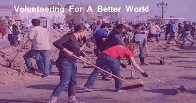 Volunteering For A Better World vbw
