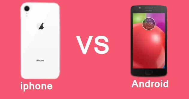 android phone vs iphone