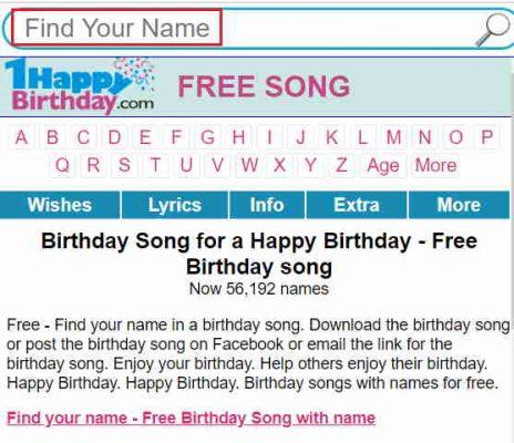birthdays songs