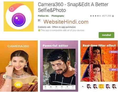 Camera360 - Snap&Edit A Better Selfie & Photo