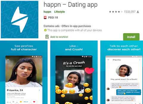 Happn dating apps