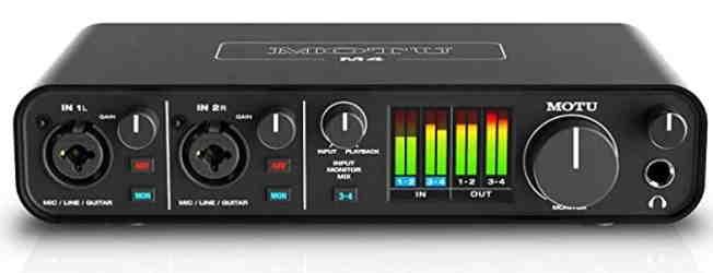 MOTU M4 USB-C Audio Interface websitehindi