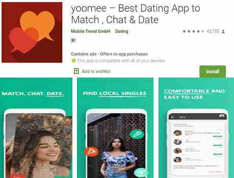 Yoomee Best Dating App
