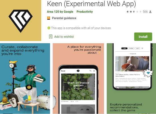 keen app download