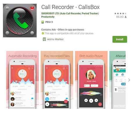 CallsBox
