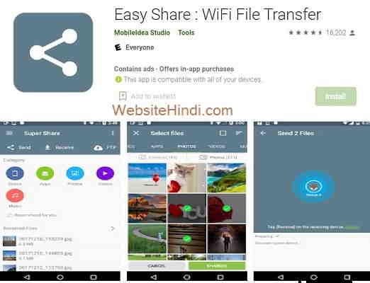 Easy Share WiFi File Transfer