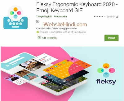 Fleksy Ergonomic Keyboard2020