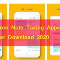 Free Note Taking Apps For Download 2020