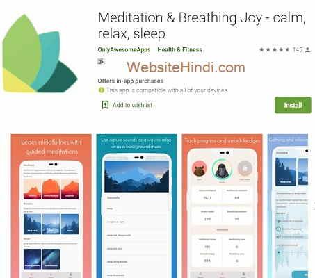 Meditation & Breathing Joy - Calm, Relax, Sleep