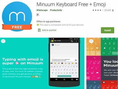 MinuumKeyboard Free + Emoji