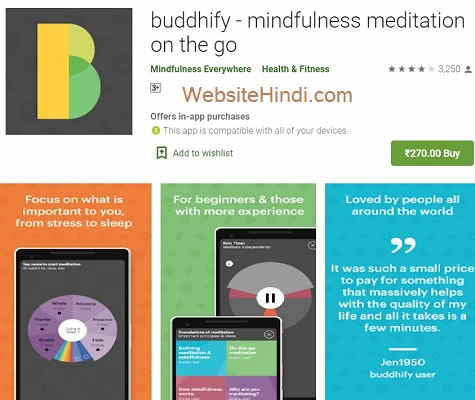 buddhify - mindfulness meditation on the go