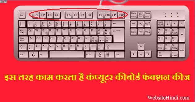 Computer Keyboard Function Keys