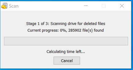 Deleted data scan in hindi