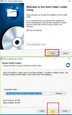 How To Lock (Password) In Folder Of Computer