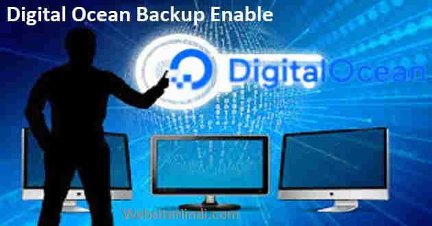 digital-ocean-backup-enable-kaise-kare