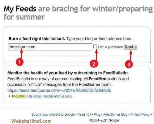 Feedburner-Email-Subscription