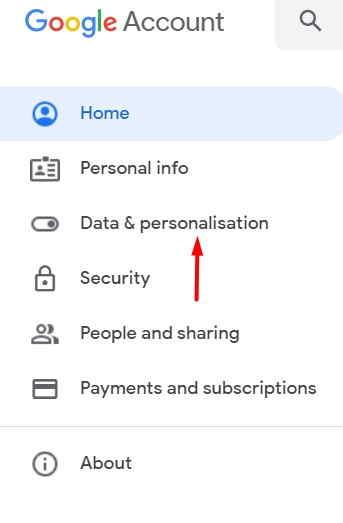 Data-Personalisation