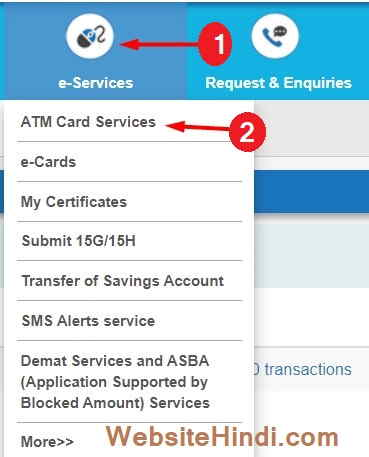 Sbi-Atm-Card-Block
