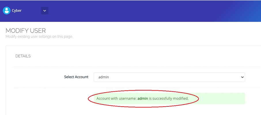 Cyberpanel-Admin-Password-Change