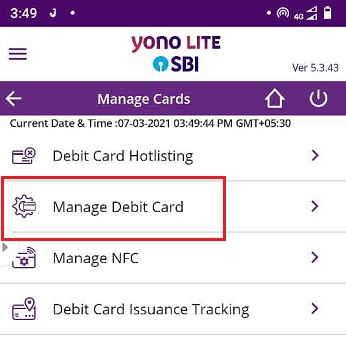 Manage-Debit