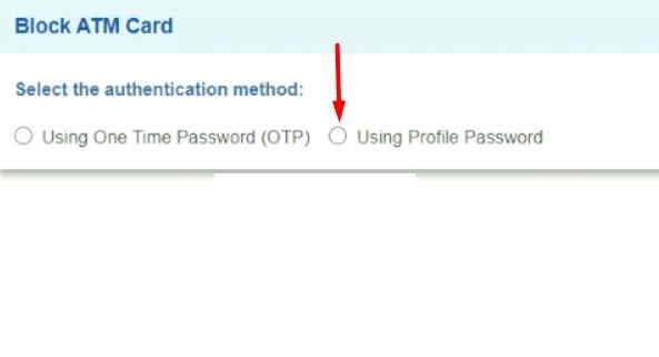 Using-Profile-Password