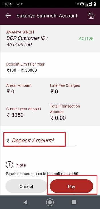 Deposit-Amount
