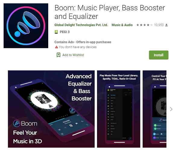 Boom-app