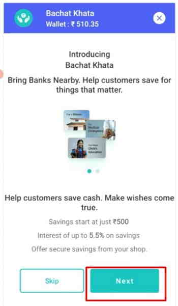 paynearby opening account